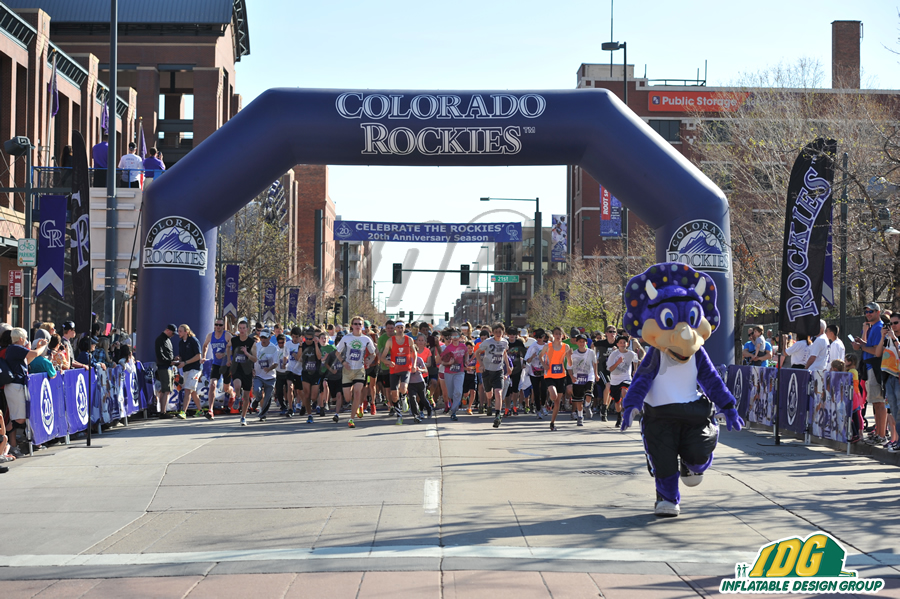 arches gonflables 5k